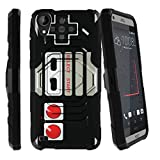 Cheap MINITURTLE Case Compatible w/ Galaxy HTC Desire 530 Hard Case, HTC Desire 630/550 Case,[Armor Reloaded] Rugged Impact Protector Case + Clip Holster and Stand Heavy Duty Game Controller Retro