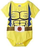 A&J Design Baby Boys' Wolverine Short Sleeve Onesie