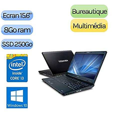 Compatible TOSHIBA Toshiba Tecra A11 - Windows 10 - i3 8 GB 250 GB SSD - Webcam - 15.6 - Ordenador portátil: Amazon.es: Electrónica