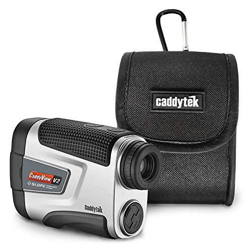 Caddytek Golf Laser Rangefinder V2+Slope 5 to 800 yards 6X Magnification