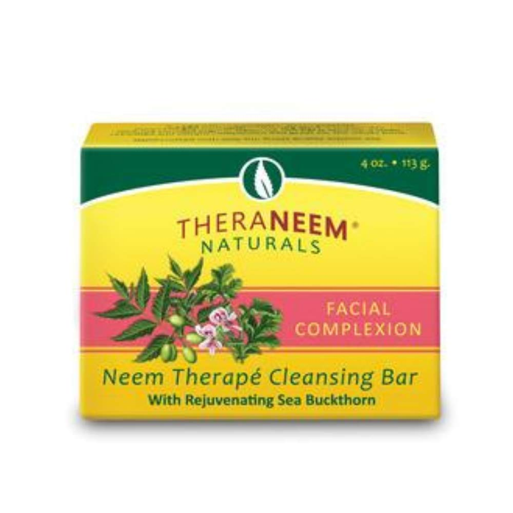 Organix South TheraNeem® Therape Cleansing Bar Facial Complexion -- 4 oz: Beauty