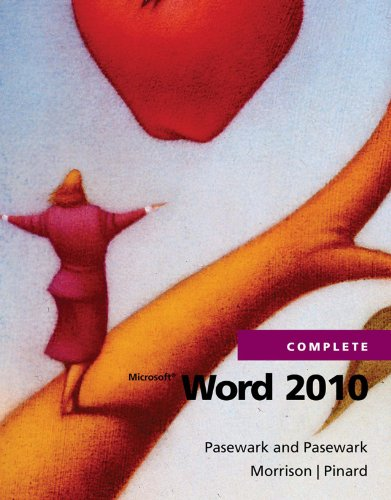 Microsoft Word 2010 Complete (SAM 2010 Compatible Products) Pdf