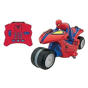 Ultimate spider man remote control u comnmand motorcycle accessories amazon canada - Spider man moto ...