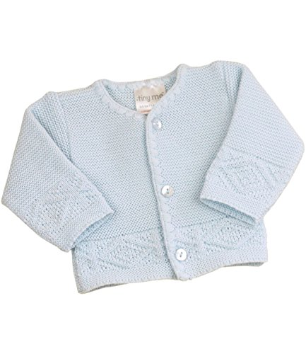 - BabyPrem Preemie Baby Cardigan Boys Girls Pink Blue 3.5 - 7.5lb BLUE PREM 2