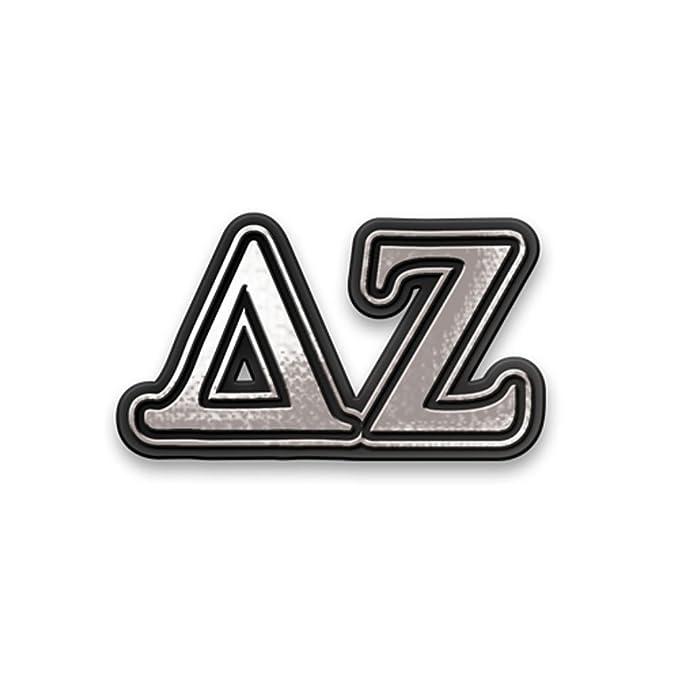 Amazon Delta Zeta Chrome Car Emblem Clothing