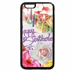 iPhone 6S / iPhone 6 Case (Black) Happy Birthday Roses