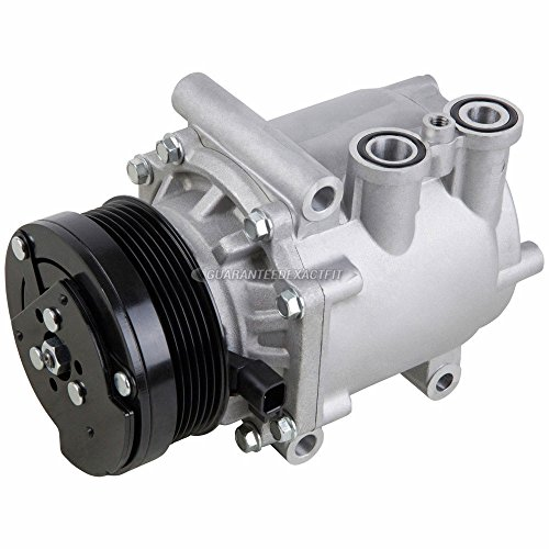 AC Compressor & A/C Clutch For Ford Explorer Mercury Mountaineer 4.0L V6 2002 2003 2004 2005 - BuyAutoParts 60-00837NA -