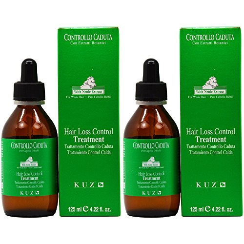 "Kuz Hair Loss Control Treatment 125mL / 4.22oz ""Pack of 2"""