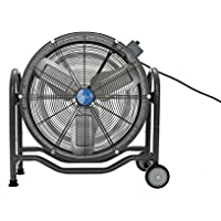 iLIVING 24 BLDC Air Circulator High Velocity Floor Fan, 115V