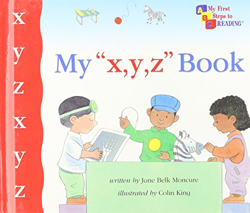 My X Y Z Book  My First Steps To Reading
