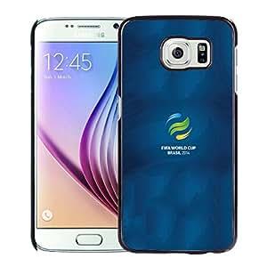 Fifa World Cup Brasil 2014 Logo Hard Plastic Samsung Galaxy S6 G9200 Protective Phone Case