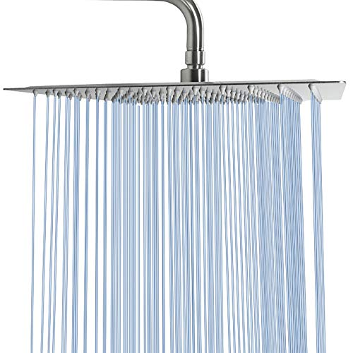 Large-Rain-Shower-Head-NearMoon-Luxury-Square-Stainless-Steel-Rainfall-Showerhead-Waterfall-Bath-Shower-Body-Covering-Ceiling-or-Wall-Mount-16-Inch-Brushed-Nickel