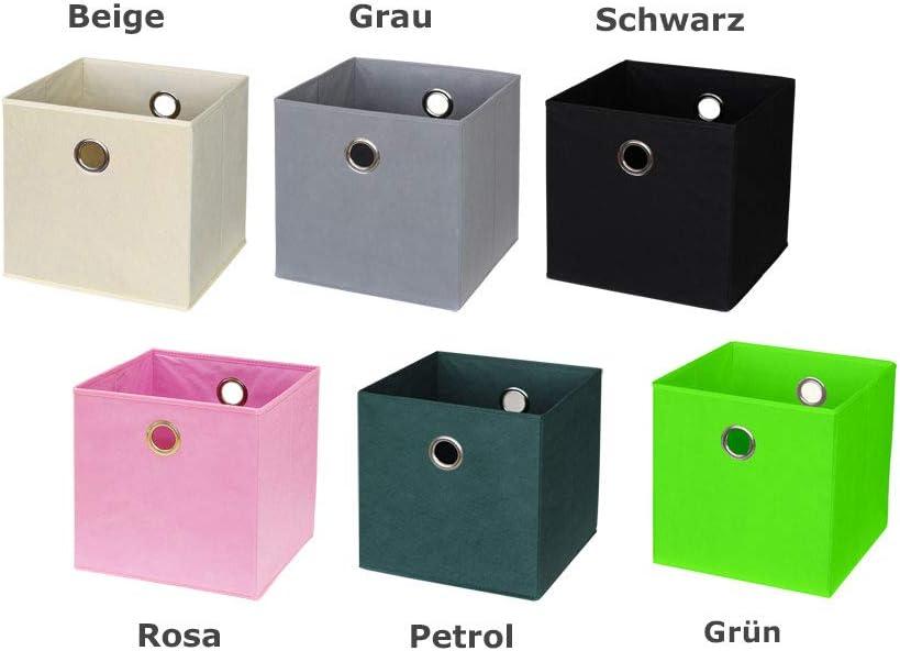 Ikea Kallax/Expedit. Box (Juego de 4) en gris: Amazon.es: Juguetes ...