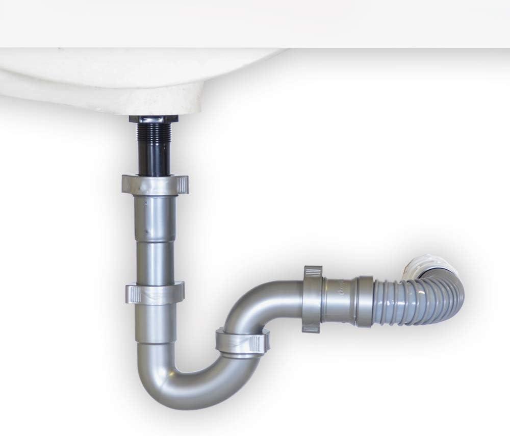 Snappy Trap Universal Drain Kit For Bathroom Sinks Amazon Com