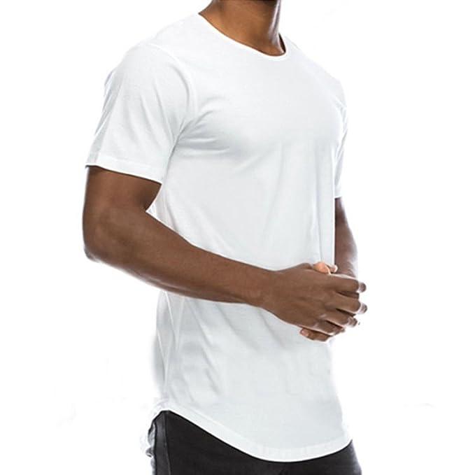 5431c980c0ef5 Weant Basic Tshirt Uomo Manica Corta Bianca Nero Polo Abbigliamento Uomo  Slim Fit Tee Taglie Forti Retro Camicetta Sportivo Top Casual Girocollo  Estiva ...