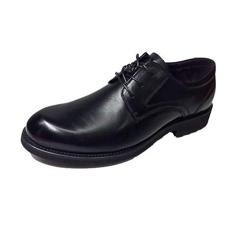 Zapatillas Redondas Negras para Hombre, Ejecutivas, De Trabajo, Confort, Corbatas Frontales, Zapatos De Hombre De Negocios.