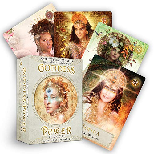 Goddess Power Oracle: Deck and Guidebook