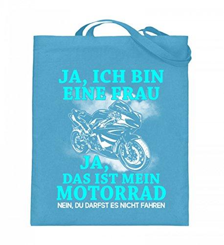 Shirtee Xzmccqxp_xt003_38cm_42cm_5739 - Cotton Fabric Bag For Blue 38cm-42cm Woman Light Blue
