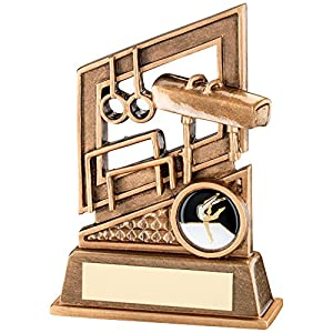 Gymnastik Trophy-Design FEATURES Hoops, Vault, unebenen Bars -5.25