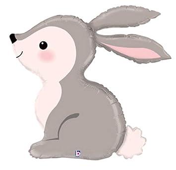 Bunny woodland. Betallic one inch new