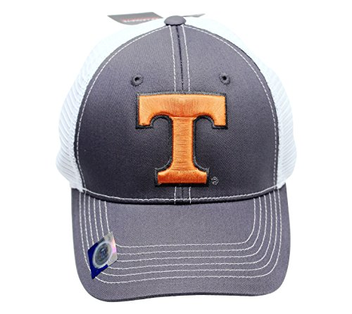 Headgear Mesh Cap - Captivating Headgear Collegiate Headwear Men's Tennessee Vols Embroidered Mesh Back Cap