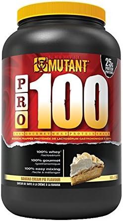 Mutant Pro 100 Whey Protein - plátano Crema Pastel 907g