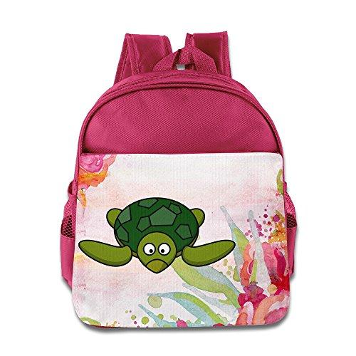 KIDDOS Infant Toddler Kids Cartoon Turtle Backpack School Bag, Pink (Franklin The Turtle Costume)