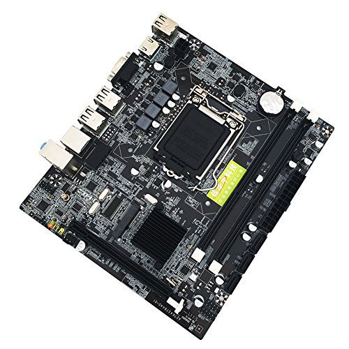 UniHappy Desktop Motherboard Mainboard for Intel X58 LGA 1366 Pin DDR3 with 6 Channel Audio Chip