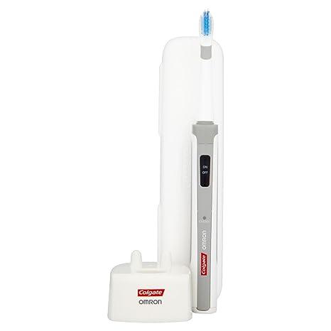 Colgate 274613 - Cepillo de dientes eléctrico sónico, color blanco y gris