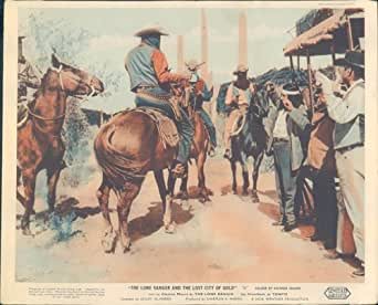THE LONE RANGER AND LOST CITY OF GOLD BANDITS ORIGINAL