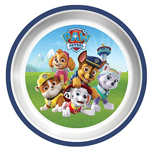 Playtex Mealtime Paw Patrol Plates for Boys - Pack of 3