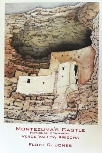 Montezuma's Castle 11x17.25 Limited Edition Fine Art Print signed and numbered by artist Floyd R. ()