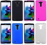 NP CITY Quality TPU Gel Phone Case for LG G Vista / VS880 D631 (Pink TPU)