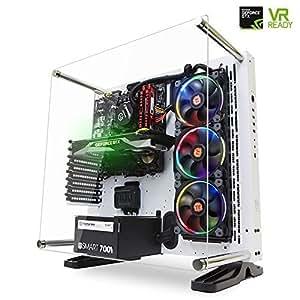 [GTX 1070 VR Ready] SkyTech Supremacy Gaming Computer PC Desktop i7-6700K 4.0Ghz, 360mm RGB Liquid Cooled, GTX 1070 8GB, 2TB HDD, 480GB SSD, 32GB DDR4, Win 10 Pro 64-bit