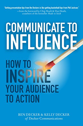 Amazon communicate to influence how to inspire your audience communicate to influence how to inspire your audience to action by decker ben fandeluxe Image collections