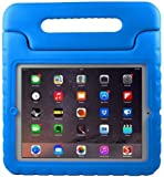 BFTOP Apple iPad 2 3 4 Kids Case - ShockProof Convertible Handle  Light Weight Protective Stand Kids Case for iPad 4, iPad 3 and iPad 2 - Blue
