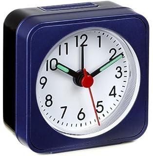 Wecker ohne zeiger  Amazon.de: Lautlos-Wecker TFA Push Blau-Metallic Sweep-Uhrwerk ...
