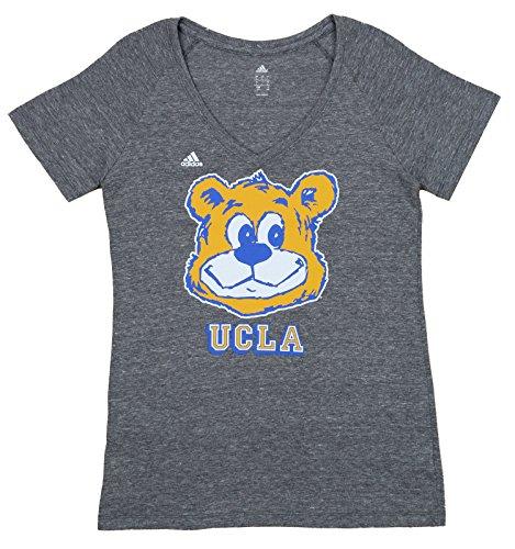 Mascot T-shirt Large Adidas (UCLA Bruins adidas Women's Triblend Mascot Graphic Tee, Grey Large)