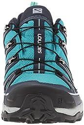 Salomon Women\'s X Ultra 2 GTX Hiking Shoe, Peacock Blue/Deep Blue/Lucite Green, 8.5 M US