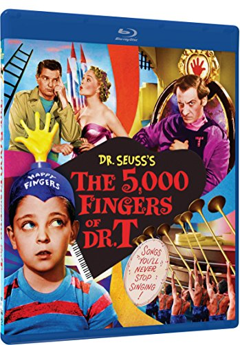 - The 5,000 Fingers of Dr. T - Blu-ray