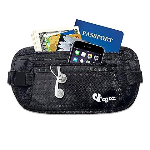 Cashew By Egoz Travel Gear Money Belt Undercover Waist Bag