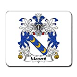 Manetti Family Crest Coat of Arms Mouse Pad