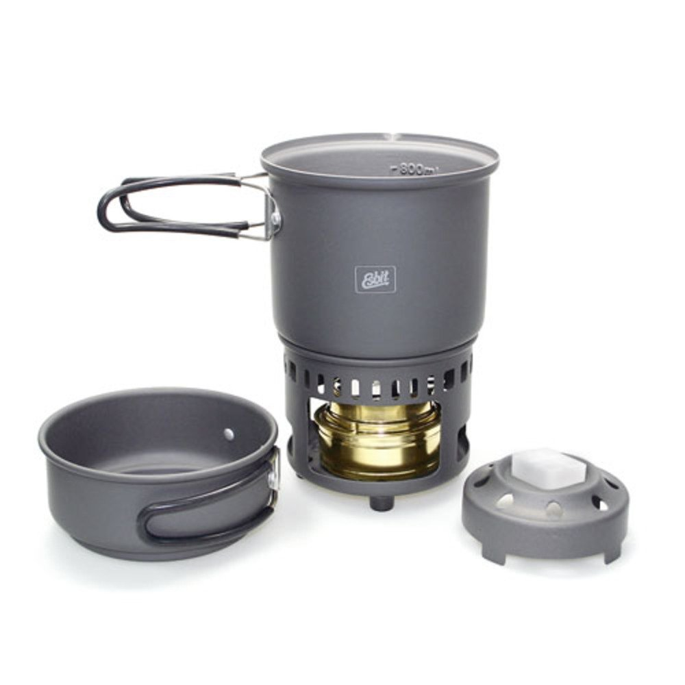 -Esbit 5-Piece Lightweight Trekking Cook Set