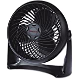Premium Floor Fan Turbo Quiet Wind Machine In Black Small Cooling Energy Saving Design Suitable For Desk and Wall