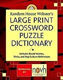Best Crossword Puzzle Dictionaries - Random House Webster's Large Print Crossword Puzzle Dictionary Review