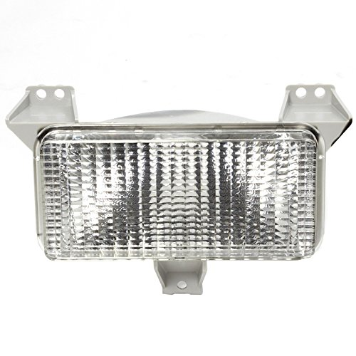 Suburban Parking Light (CarPartsDepot Fit 1983-1988 Chevy Blazer Full Size Front Facial Parking Light LH=RH GM2520122)