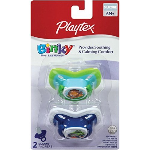 Playtex Binky + Silicone Pacifiers