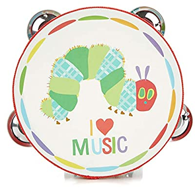World of Eric Carle Wood Tambourine Instrument for Kids : Baby