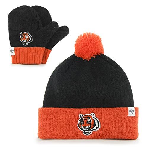 NFL Cincinnati Bengals Toddler '47 Brand Bam Bam Cuff Knit P