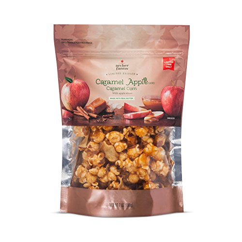 Archer Farms Caramel Apple Corn with Apple Slices 7oz, pack of 1 by Archer Farms